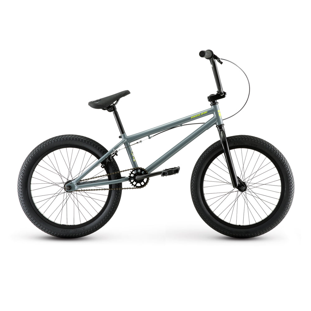 "Redline Rival 19""TT BMX Freestyle Bike-Grey Gloss"