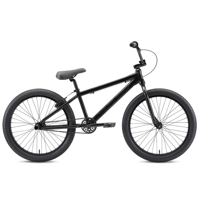 "SE So Cal Flyer 24"" BMX Freestyle Bike-Stealth Mode Black"