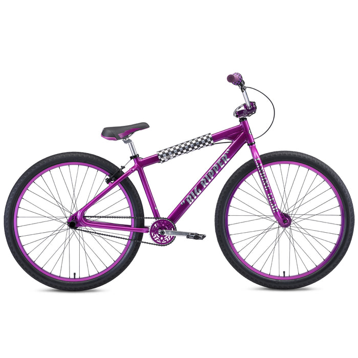 "SE Big Ripper 29"" BMX Freestyle Bike-Purple Rain"