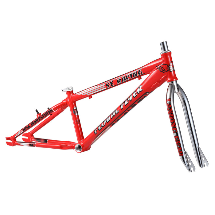 "SE Racing Floval Flyer 24"" BMX Frame-Red"