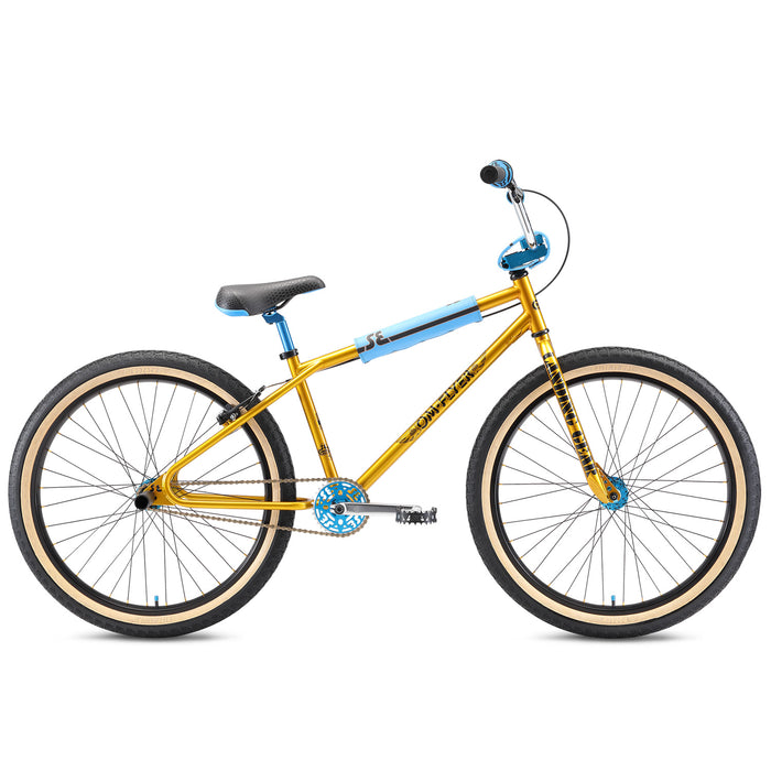 "SE OM Flyer 26"" BMX Freestyle Bike-Solid Gold"