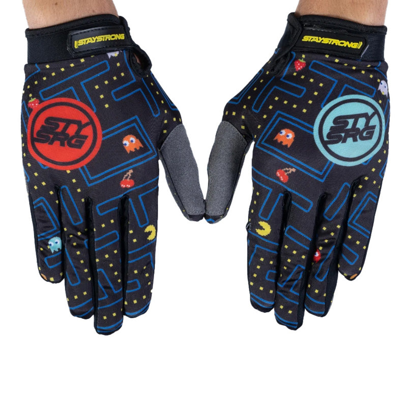 Stay Strong Arcade BMX Race Gloves