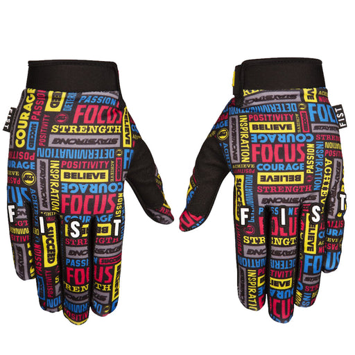 Stay Strong x Fist Stength In Your Hands BMX Race Gloves