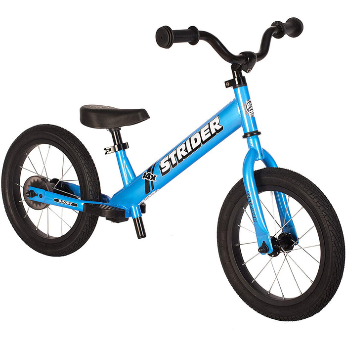 Strider 14x Sport Balance Bike-Blue