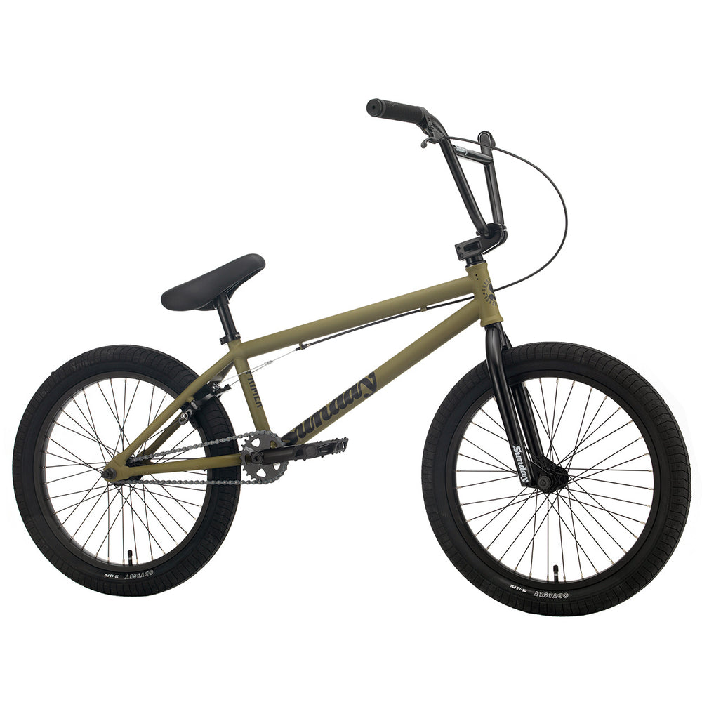 "Sunday 2021 Primer 21""TT BMX Bike-Matte Army Green"