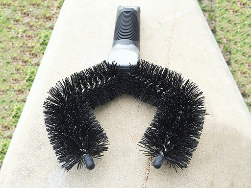 White Lightning Tire Brush