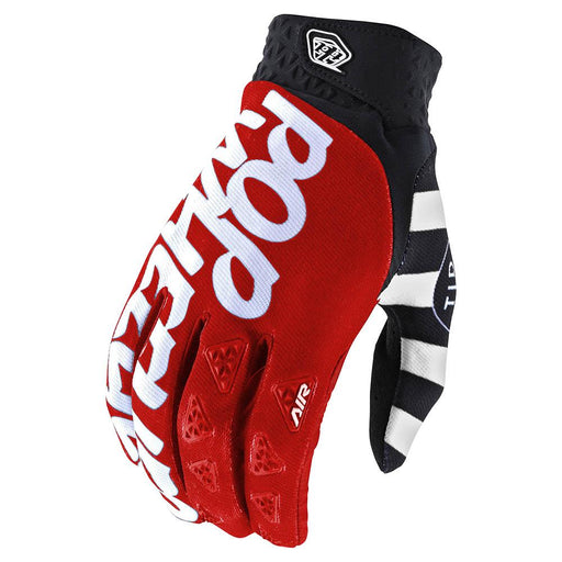 Troy Lee Air Glove Pop Wheelies-Red