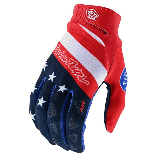 Troy Lee Air Glove Stars & Stripes-Red/Blue