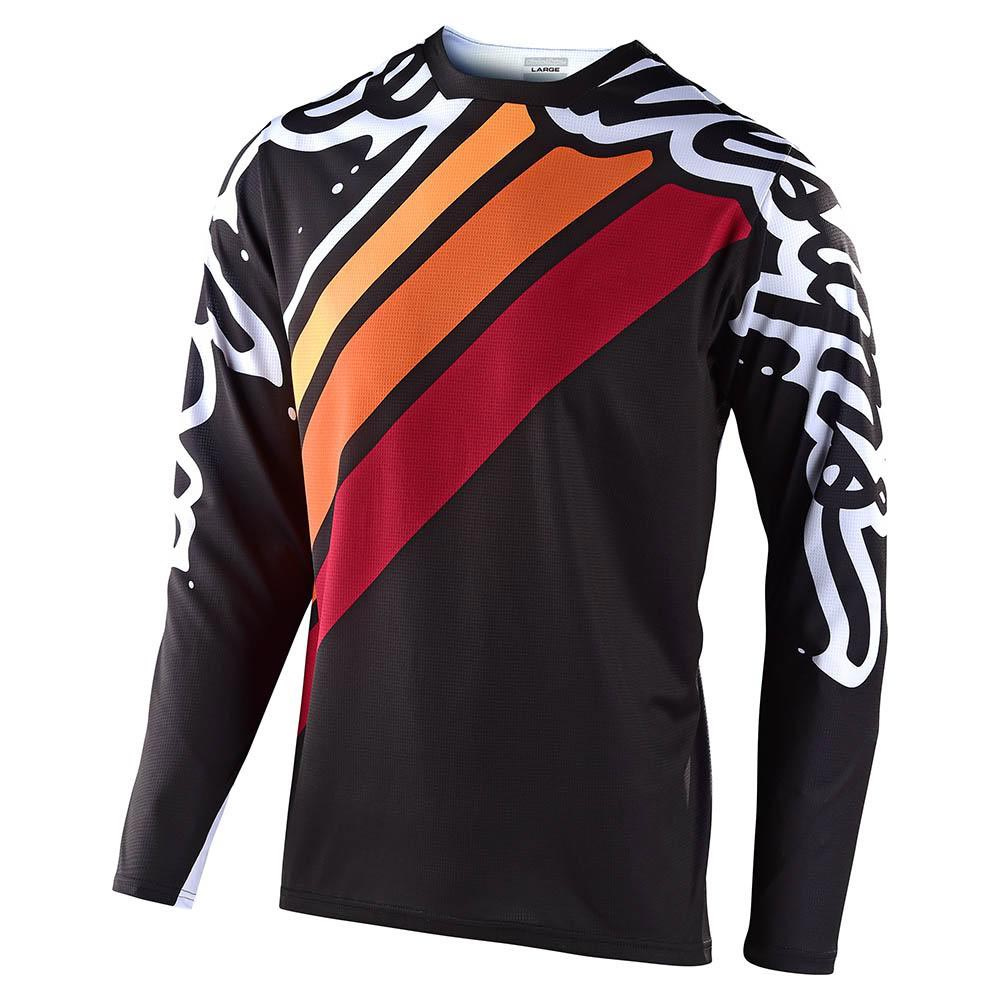 Troy Lee Sprint Jersey Seca 2.0-Black/Burgundy