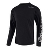 Troy Lee 2021 Sprint Jersey-Solid Black