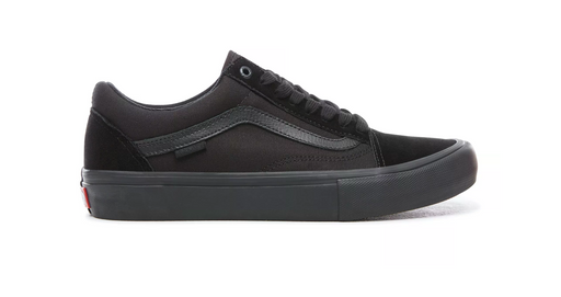 Vans Old Skool Pro Shoe-Blackout