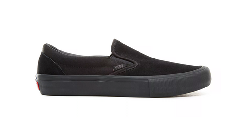 Vans Slip-On Pro Shoe-Blackout