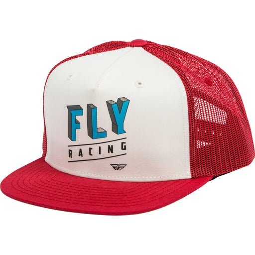 Fly Racing Dimensions Hat-Red