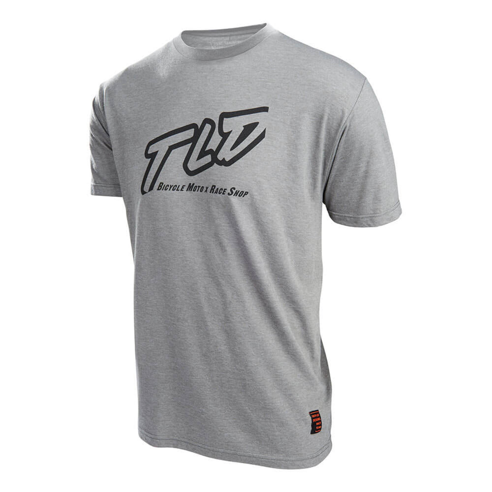 Troy Lee Designs Just Right T-Shirt - Heather Platinum