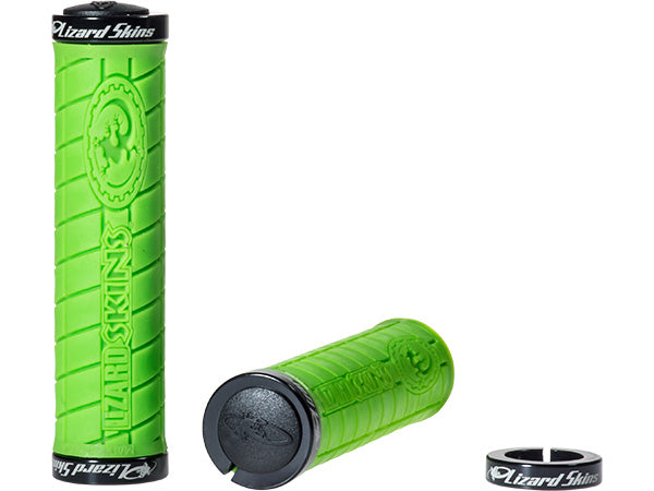 LIZARD SKINS Logo NO Flange Lock-On Grips