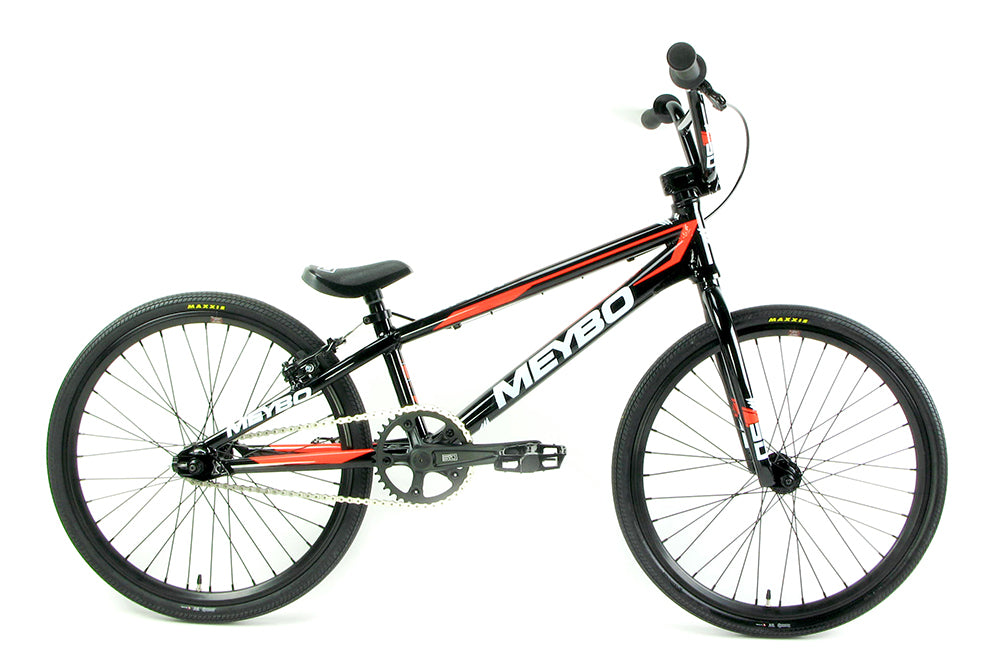 Meybo 2018 Expert Clipper BMX Bike-Black/White/Red