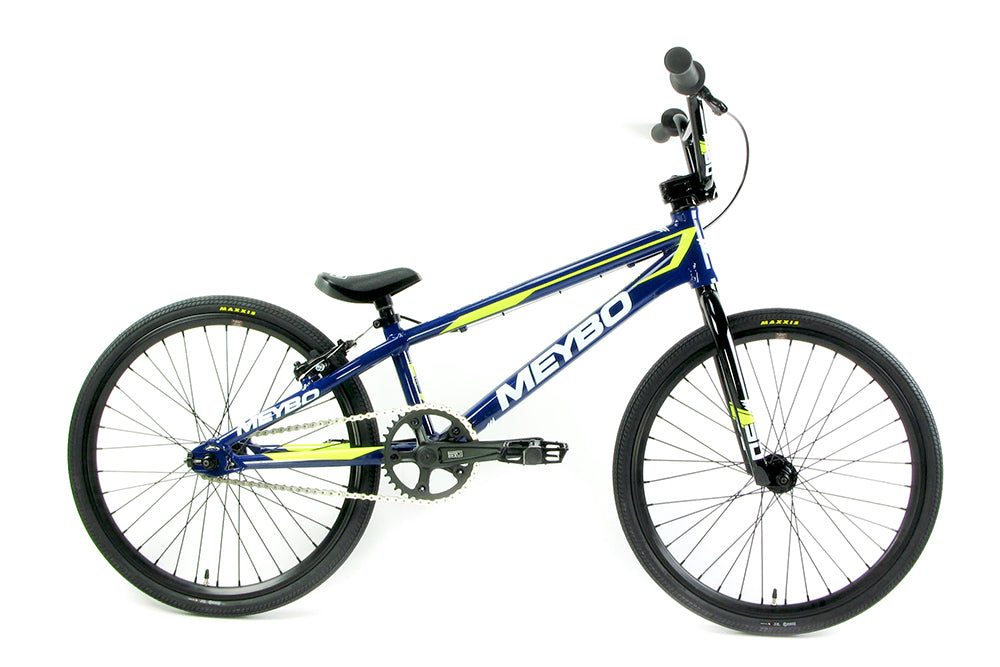 Meybo 2018 Clipper Expert BMX Bike-Blue/White/Yellow