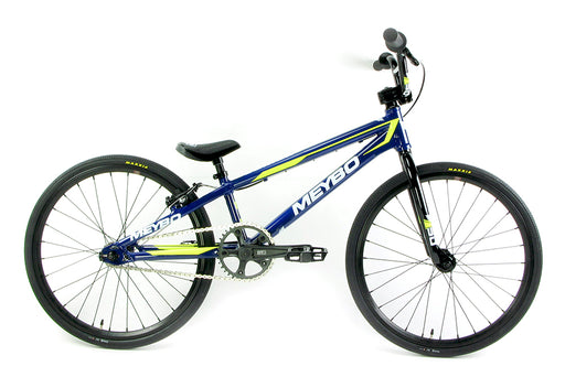 Meybo 2018 Clipper Junior BMX Bike-Blue/White/Yellow