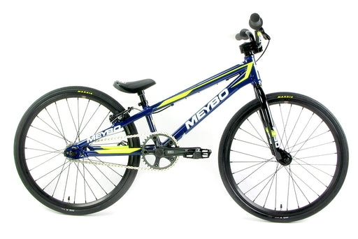 Meybo 2018 Pro XL Clipper BMX Bike-Blue/White/Yellow
