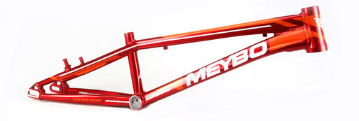 Meybo 2018 Holeshot Aluminum BMX Race Frame - Red/White/Orange