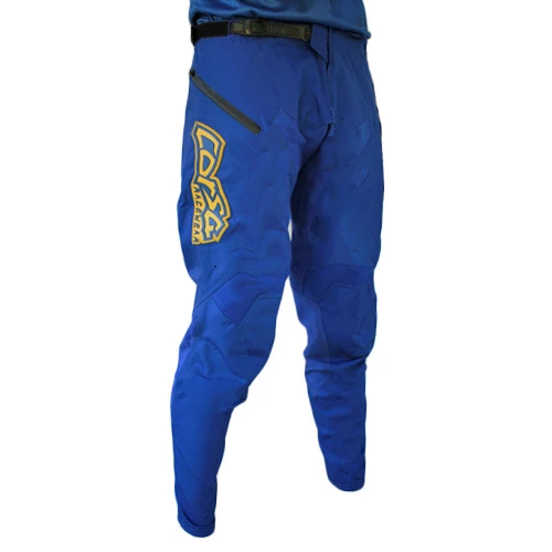 Corsa Unleashed BMX Pants-Navy/Gold
