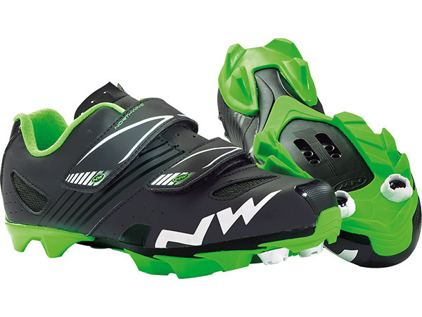 Northwave Hammer Kids | BLACK/GREEN