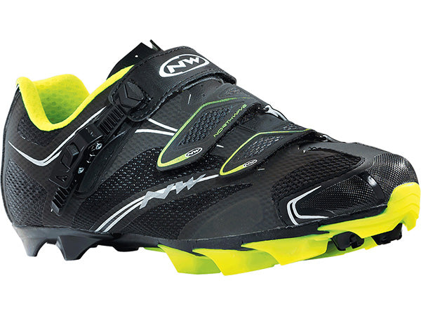 Northwave Scorpius SRS | BLACK/FLUORESCENT YELLOW