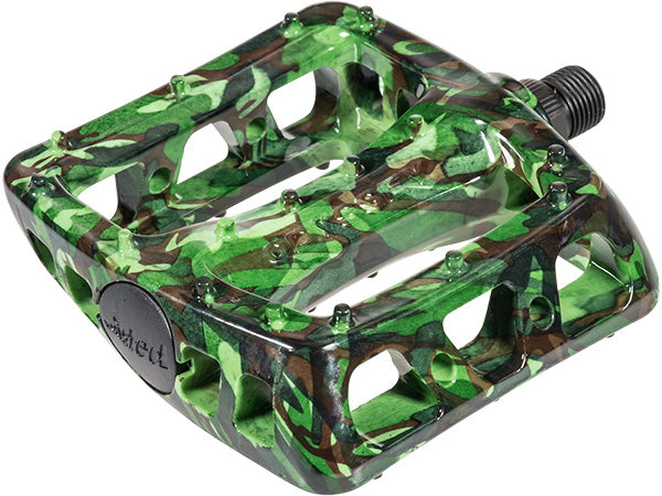 ODYSSEY Twisted PC Pedals | LTD GREEN CAMO COLOR