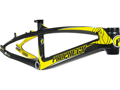 PROPHECY Scud Evo Carbon Race Frame | BLACK/YELLOW