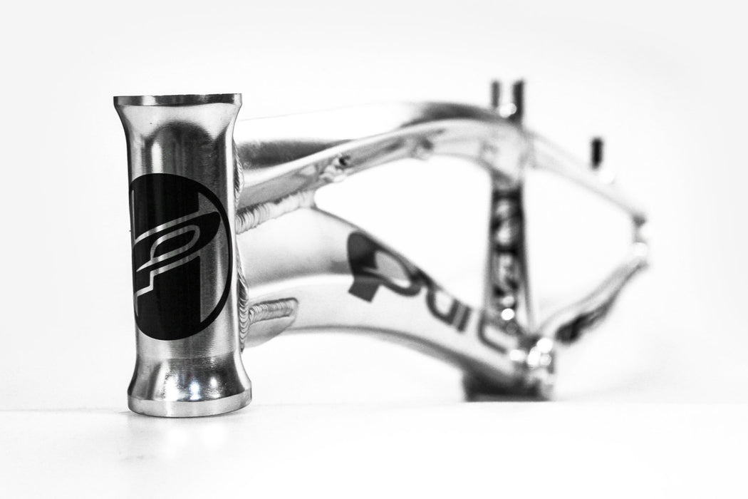 PURE V5 BMX Race Frame-Polished/Black