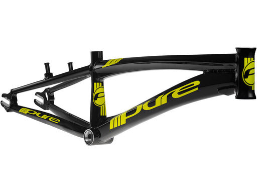 Pure V4 BMX Race Frame-Black/Yellow
