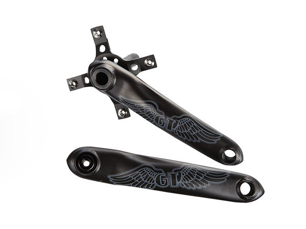 GT Chromoly Race Crankset-Black