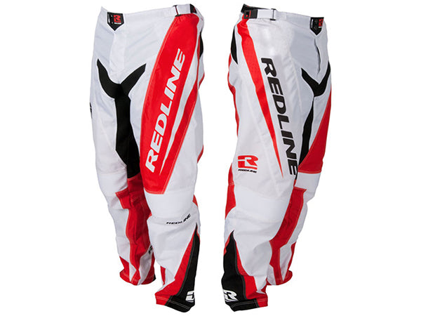 Redline Flight Race Pants | Red/White/Black