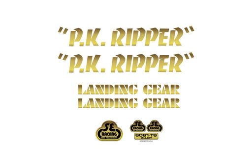 SE PK Ripper Decals gold