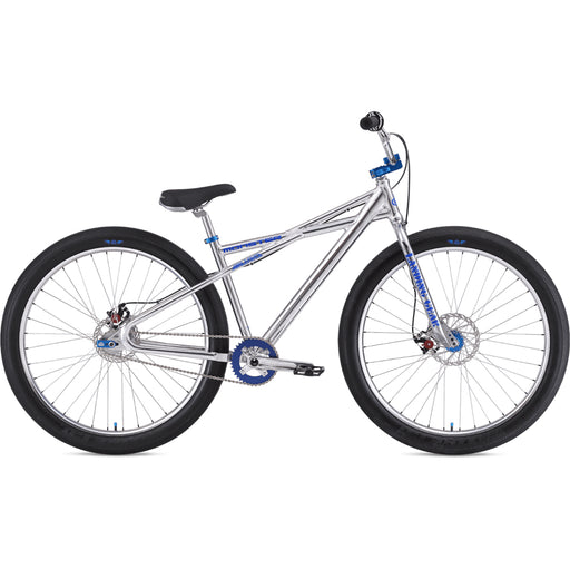 "SE 2020 Monster Quad 29"" BMX Bike-High Polish Silver"
