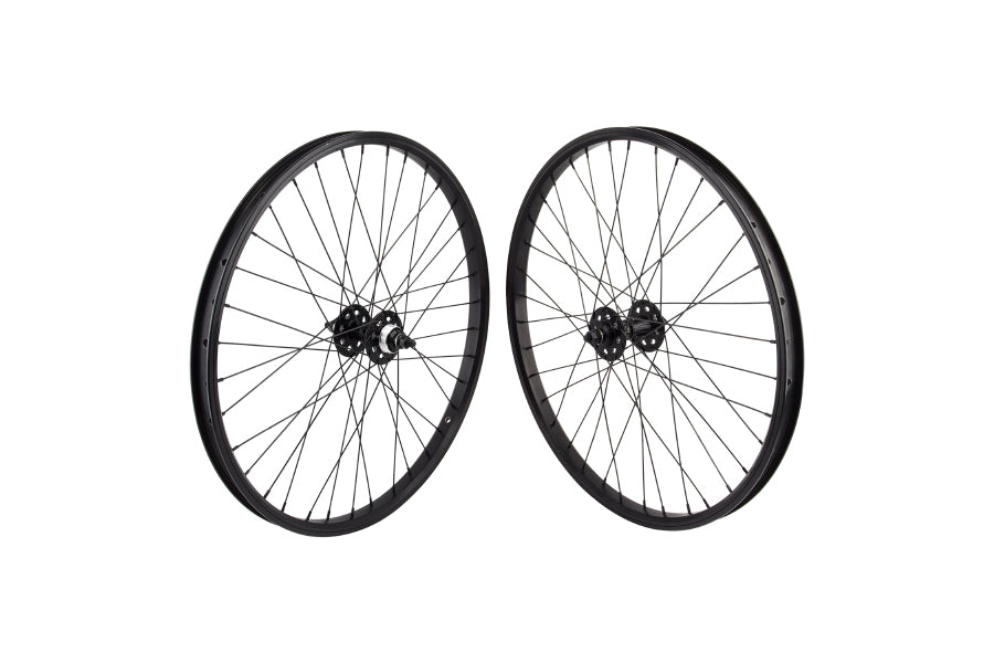 "SE 24"" Wheelset black"