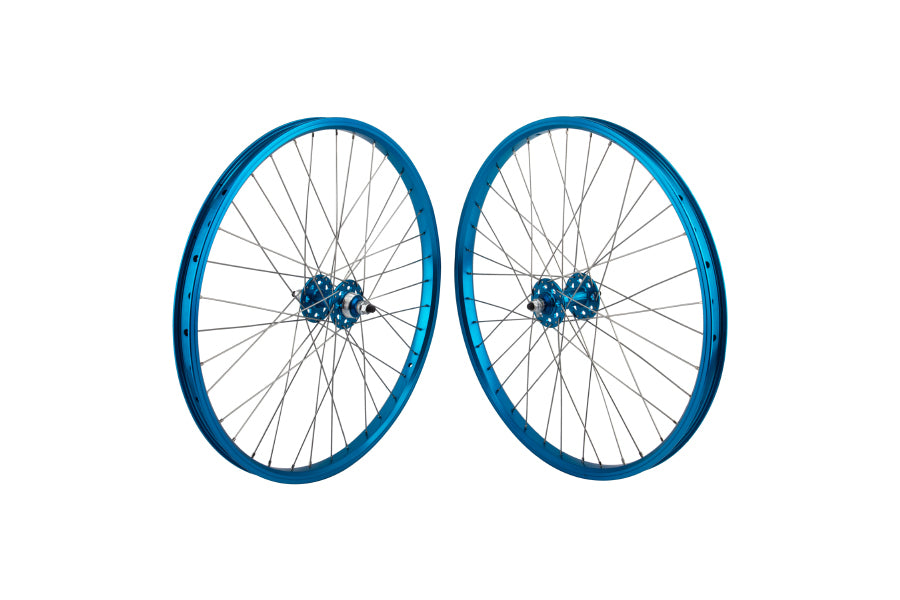 "SE 24"" Wheelset blue"