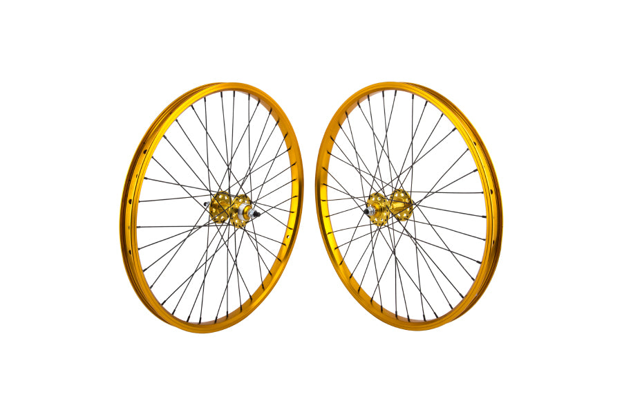 "SE 24"" Wheelset gold"