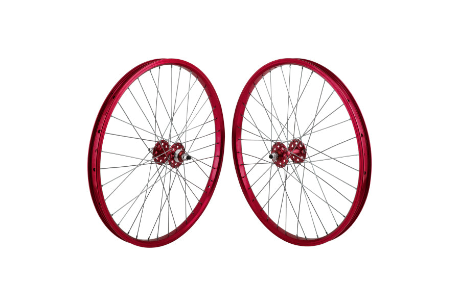 "SE 24"" Wheelset red"