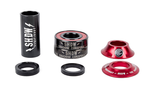 Shadow Conspiracy Stacked Bottom Bracket-Mid Crimson Red