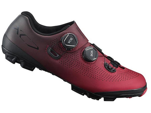 Shimano 2019 SH-XC701 Clipless Shoes-Red Side View