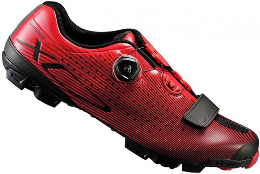 Shimano XC-7 Clipless BMX Race Shoes-Red