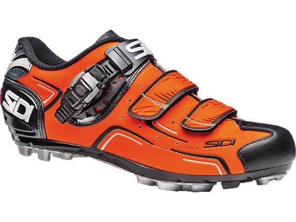 Sidi Buvel Clipless Shoe-Fluorescent Orange/Black