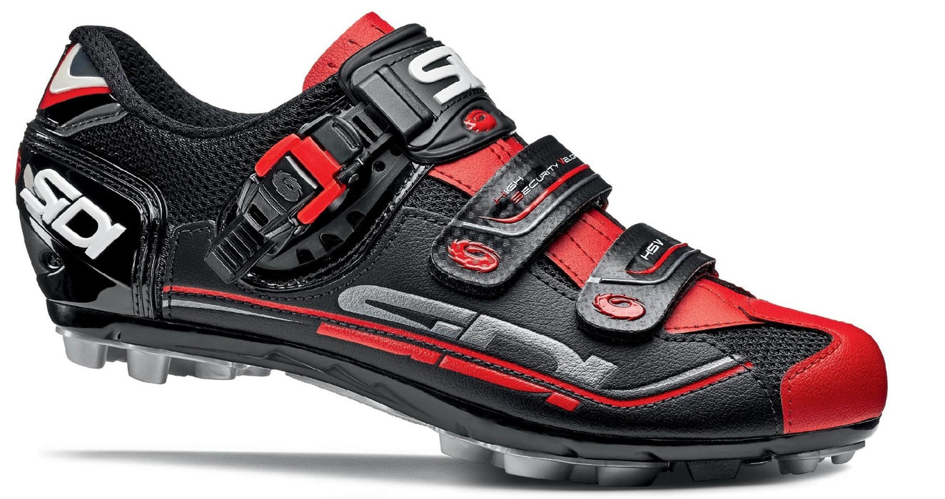 Sidi Dominator 7 Clipless Shoes - Black/Red