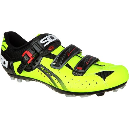 Sidi Dominator Fit Clipless Shoes-Fluorescent Yellow/Black