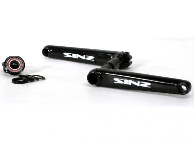 SINZ 2-pc Chromoly Crank Set