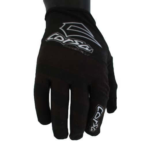 Corsa Unleashed Strapless Race Glove-Black/White