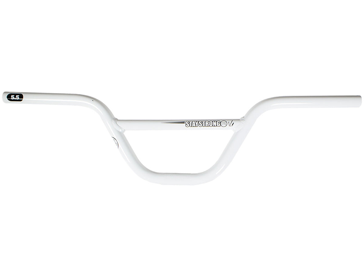 "Stay Strong Expert Race Handlebar-5.5"" White"