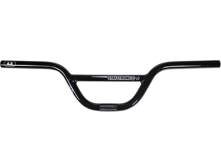 "Stay Strong Expert Race Handlebar-4.5"" Black"