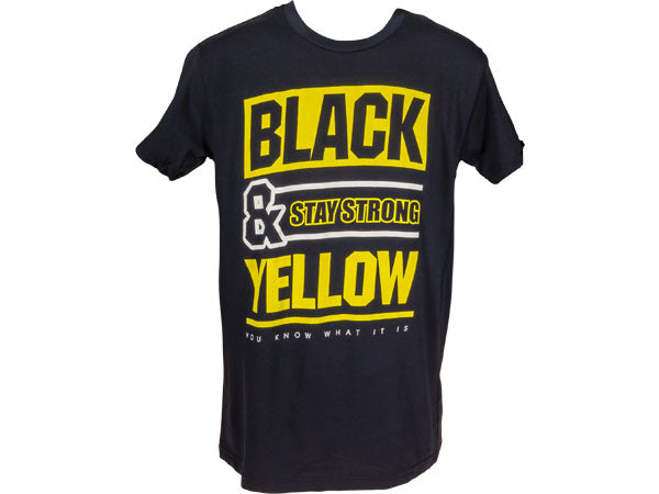 STAY STRONG Black and Yellow | BLACK/YELLOW